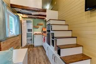 Tiny Homes Interior Designs Custom Finished Tumbleweed Mobile Tiny House Idesignarch