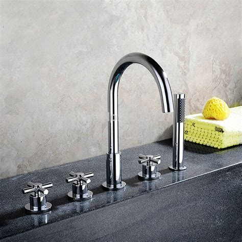Held Shower For Bathtub Faucet by Bathroom Bathtub Mixer With Pull Out Held Shower