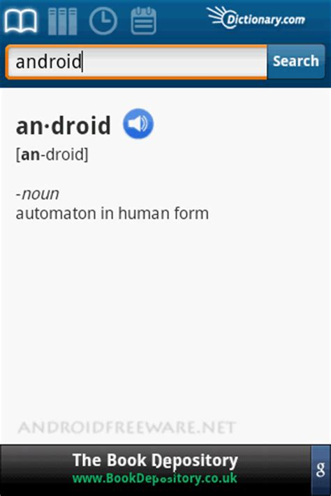 free dictionary for android dictionary free android apps android freeware