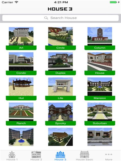 app shopper house building ideas guide for minecraft pe