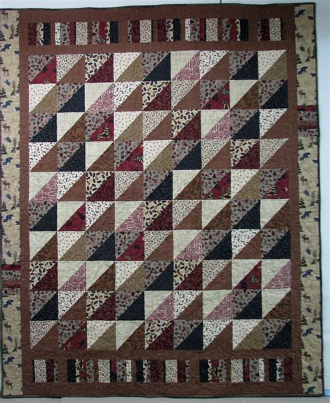 Flannel Quilt Pattern by Exuberant Color Flannel Quilts