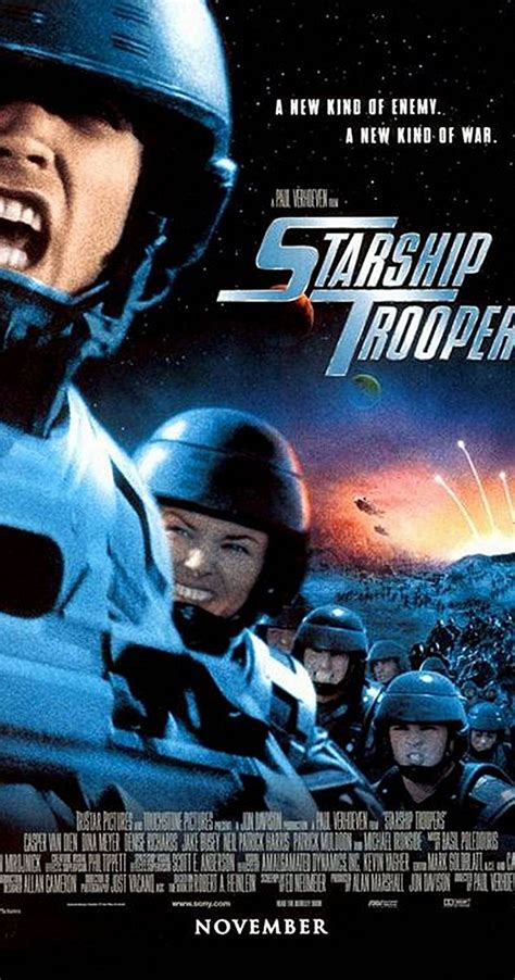 libro the armies winner of starship troopers 1997 imdb