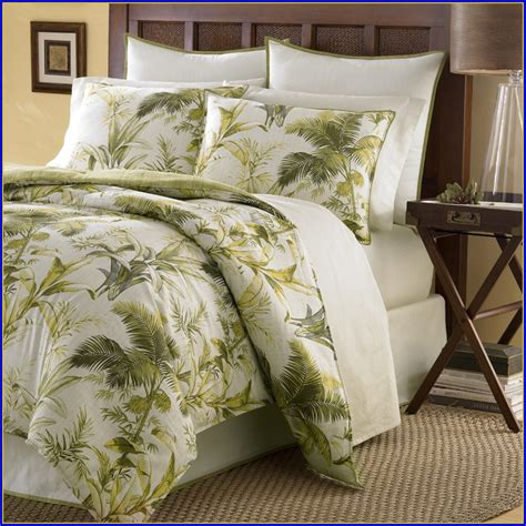 tommy bahama bedding king casablanca garden quilt set by