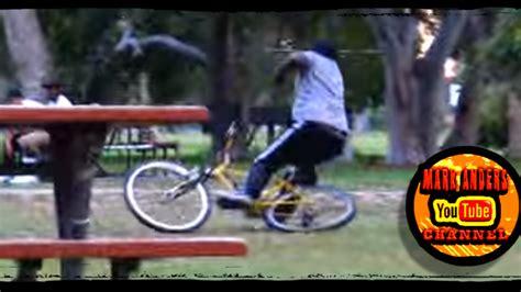 bike seat shock prank stun gun in bike seat prank anders channel