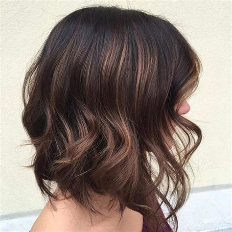 lob haircut dark wavy hair 31 gorgeous long bob hairstyles stayglam