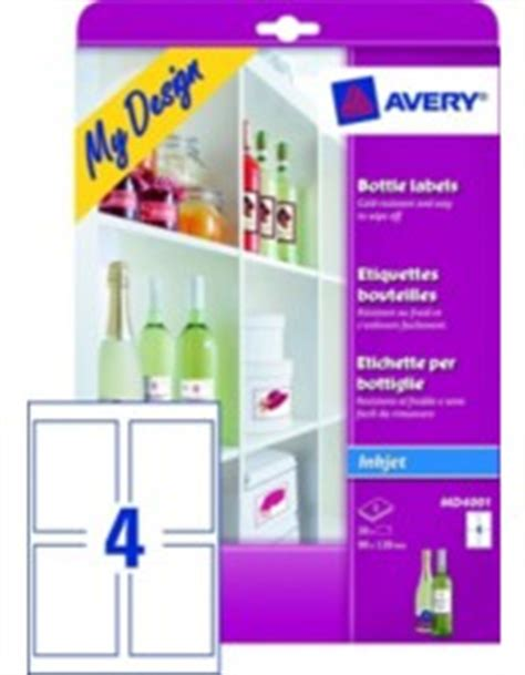 avery products templates bottle labels md4001 avery
