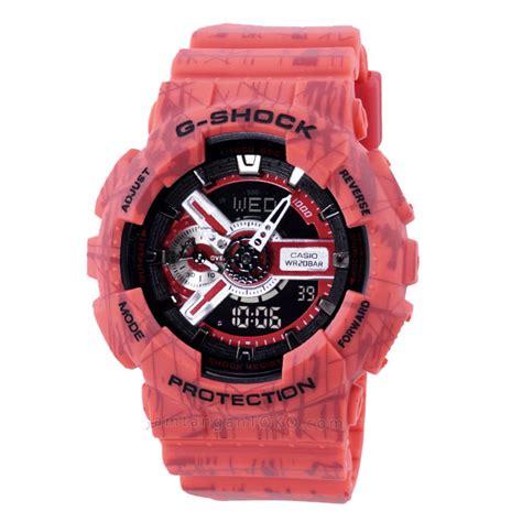 Jam Tangan Gshock Ga 100 Original Bm harga sarap jam tangan g shock ga110sl 4a ori bm slash
