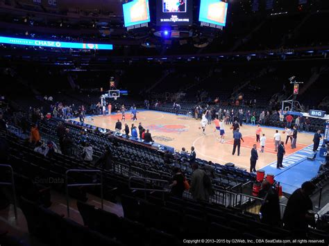 section 109 madison square garden madison square garden section 109 new york knicks