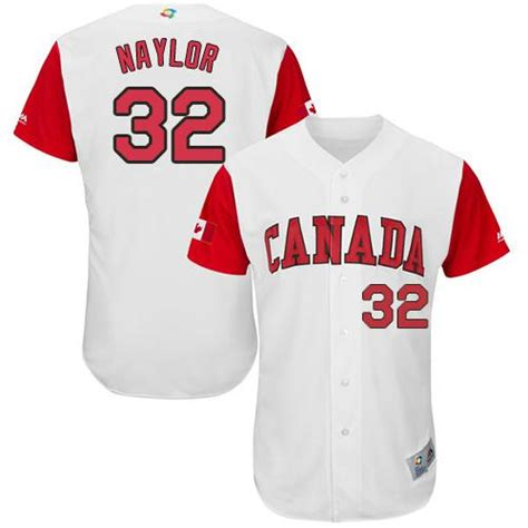 Jersey Baseball Yankees 32 team canada 32 josh naylor white 2017 world baseball
