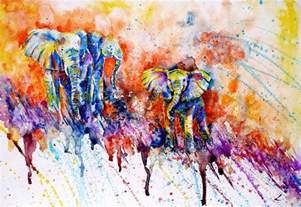 colorful elephant painting the gallery for gt colorful abstract elephant