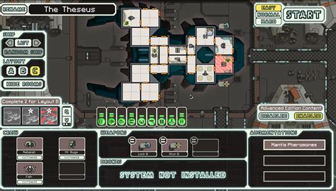 ftl kestrel layout b strategy ftl being all on board with the mantis cruiser