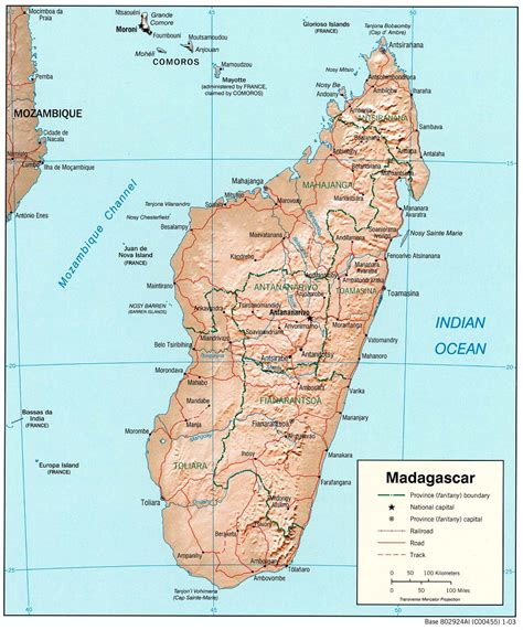 madagascar map madagascar maps perry casta 241 eda map collection ut library