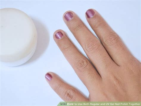 can you use gel nail without uv light how to use both regular and uv gel nail together 9