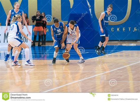 Mba Dynamo Moscow Basketball by Fight For The Editorial Photo Image 30244516