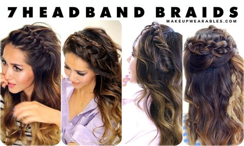 wedding hairstyles using a headband half updo with headband the best hair style