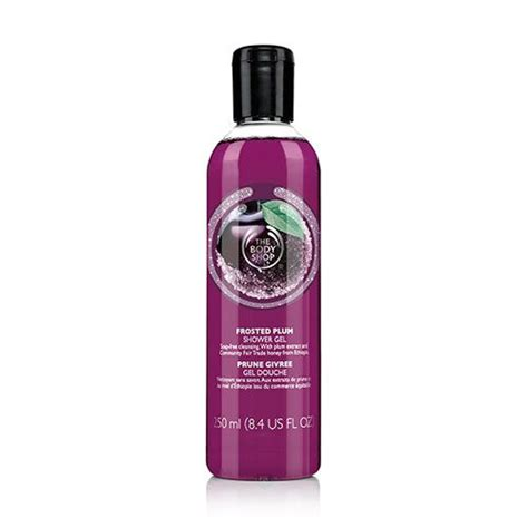 soap free frosted plum scented shower gel wash the