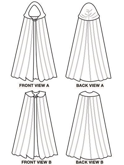 floor length hooded cape pattern 86 best cape pattern sewing free images on