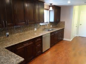 espresso kitchen cabinets with granite gorgeous espresso kitchen cabinets ideas and inspirations