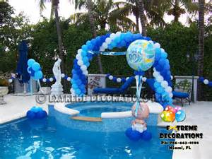 It s a boy baby shower balloon decoration ideas baby
