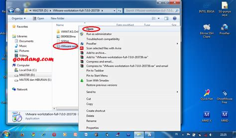 tutorial instal windows 7 gambar tutorial cara install vmware pada windows 7 full gambar