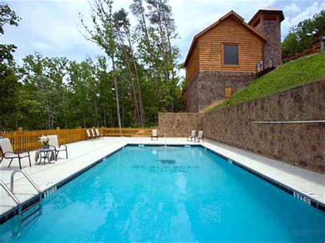 Smoky Mountain Cabin Rentals With Pool by Black Lodge Pigeon Forge Cabins Gatlinburg Cabins