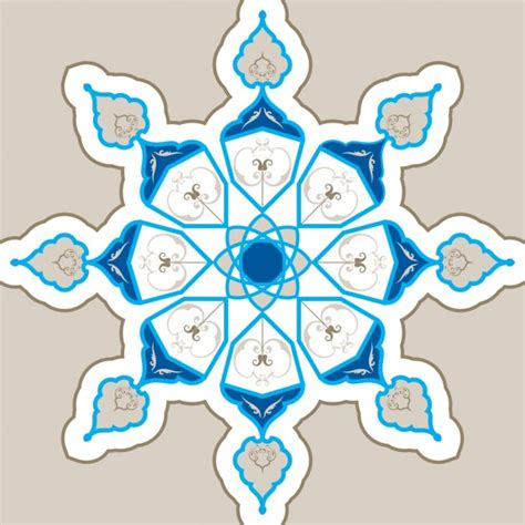 geometric ornaments islamic geometric ornament vector free