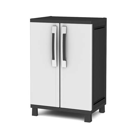 keter tall utility shop keter 25 in w x 38 in h x 17 in d plastic