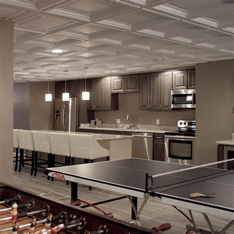 Suspended Acoustic Ceiling Panels by Ceilings 101 Drop Ceiling Vs Drywall Ceiling
