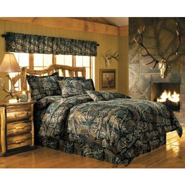 cabela s seclusion 3d 174 camo 12 piece bedroom ensemble at