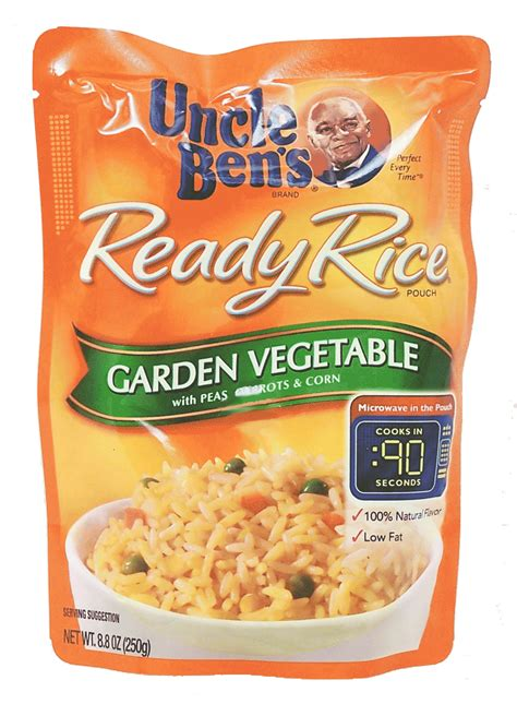 Groceries Express Com Product Infomation For Uncle Ben S Garden Vegetable Rice