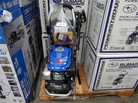 subaru electric start gas pressure washer