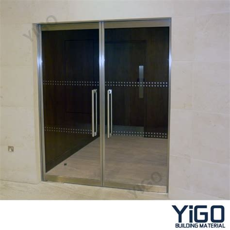 glass doors for 13 by 13 leaf swing glass doors for store buy swing