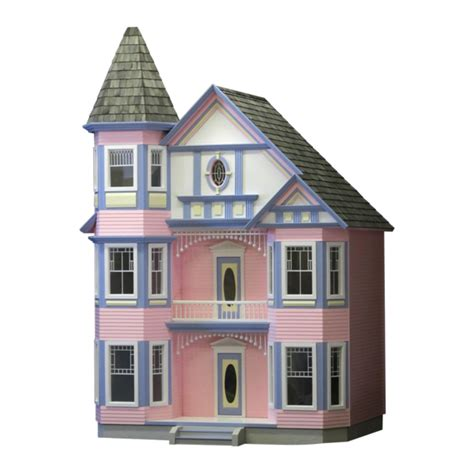 the painted lady dollhouse kit � real good toys