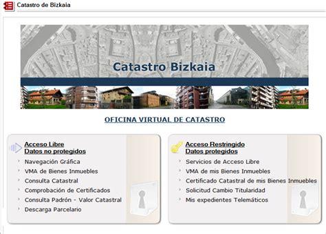 oficina de catastro virtual bizkaia eus temas