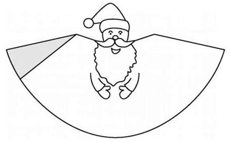 santa claus craft template how to craft santa claus hellokids