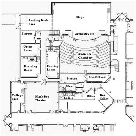 theatre floor plan square footage per person event home mansion