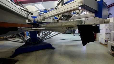 sle business plan printing press silkscreen printing press stock footage video 3796118