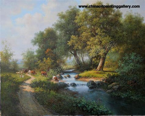 landscape paintings 9 background wallpaper hivewallpaper