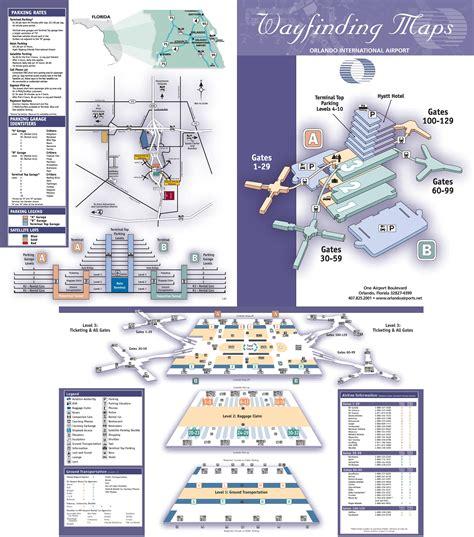 mco map orlando international airport map
