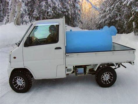 mitsubishi mini truck lifted photos cook inlet mini trucks alaska