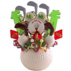 Las Vegas Gift Baskets Golfer S Get Well Soon Gourmet Lollipop Gifts