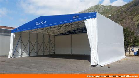 capannoni retrattili usati copritutto capannoni mobili in telo pvc