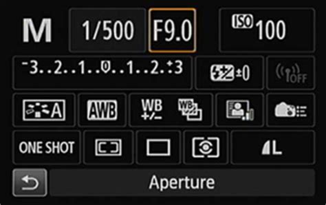 how to adjust aperture and shutter speed on a canon eos