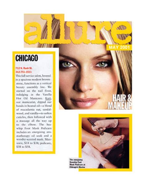 allures best chicago salons for 50 makeover allure may 2001 maxine salon kari siriscevich nail