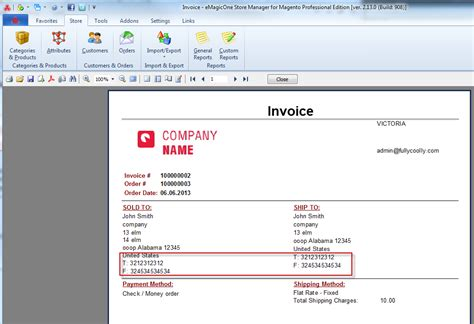 change invoice design magento magento invoice template best free home design idea