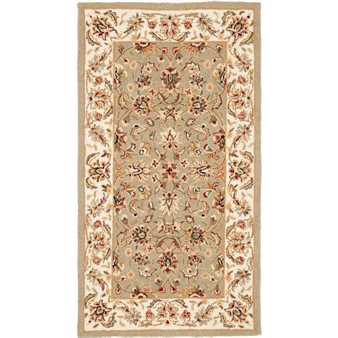 4 X 9 Area Rug Safavieh Chelsea Ivory 2 Ft 9 In X 4 Ft 9 In Area Rug Hk78d 3 The Home Depot