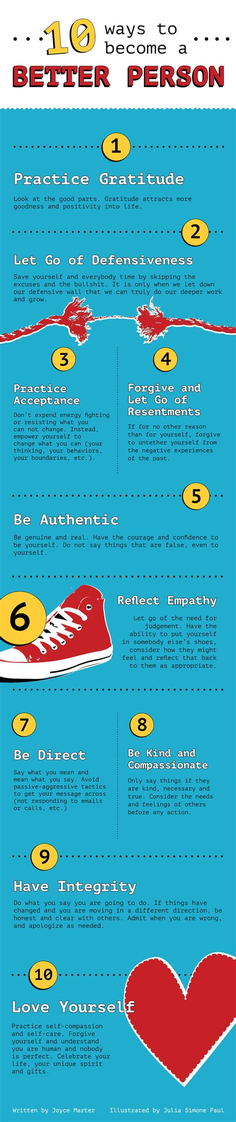 10 Easy Ways To Be A Better Person by 10 Ways To Become A Better Person Pictures Photos And