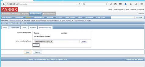 html link template how to install zabbix on centos rhel 7 6 5 part 2