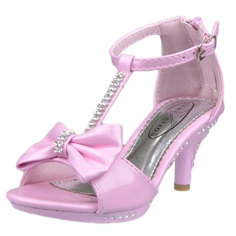 high heel shoes size 4 s t rhinestone bow open toe high heel dress