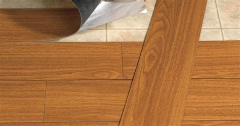 Peel And Stick Wood Look Plank Flooring   Top Rated